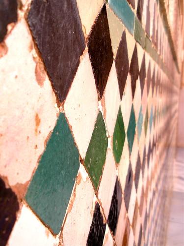 mosaic, alhambra, granada