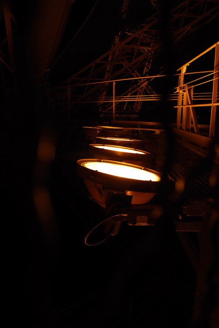 spotlight beams