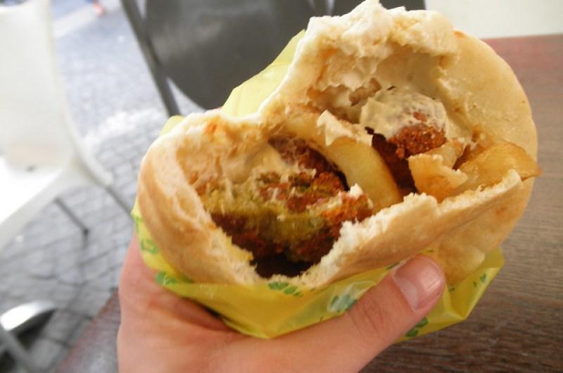 Falafel deliciosity