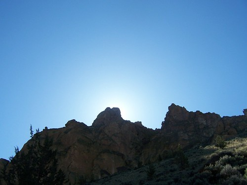 Smith Rock Sunlight
