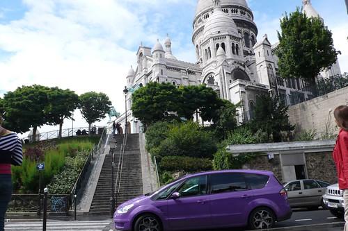 The Joneses visit Montmartre