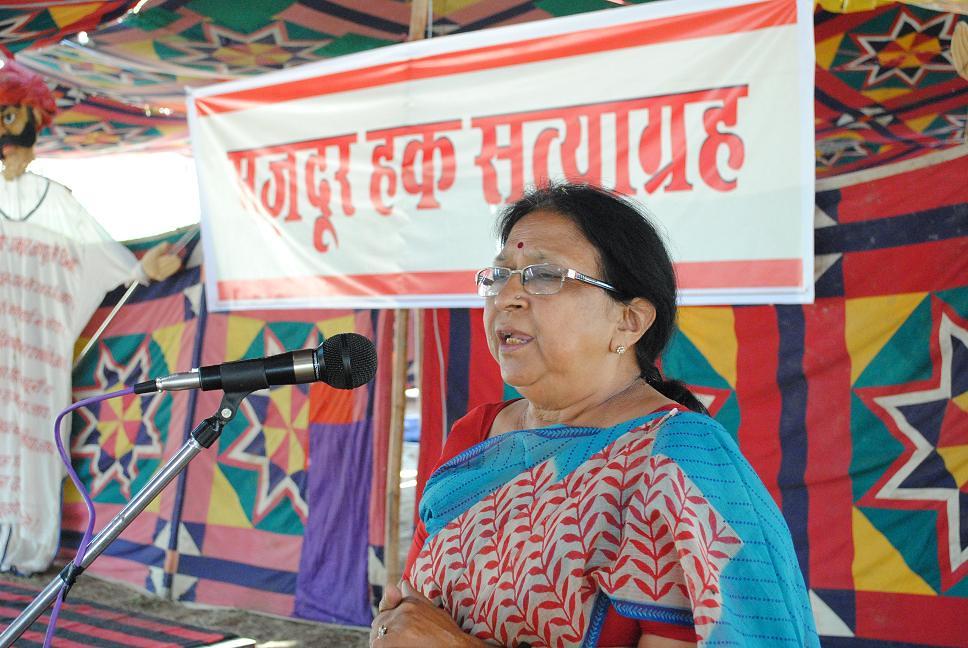 Pics from the satyagraha - 4 Oct 2010 - 7