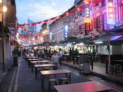 Dinner Time in China Town