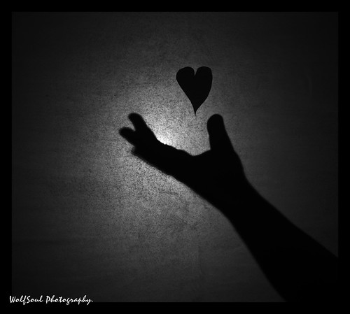 my heart is on  your hands.
