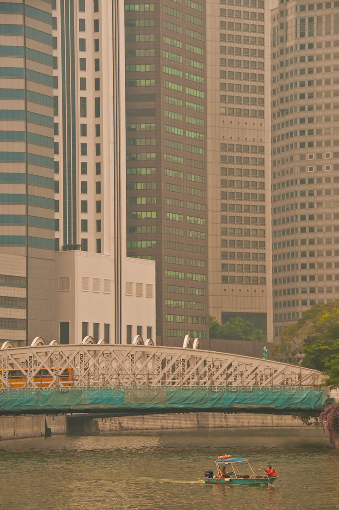 Singapore Business District and the Singapore River