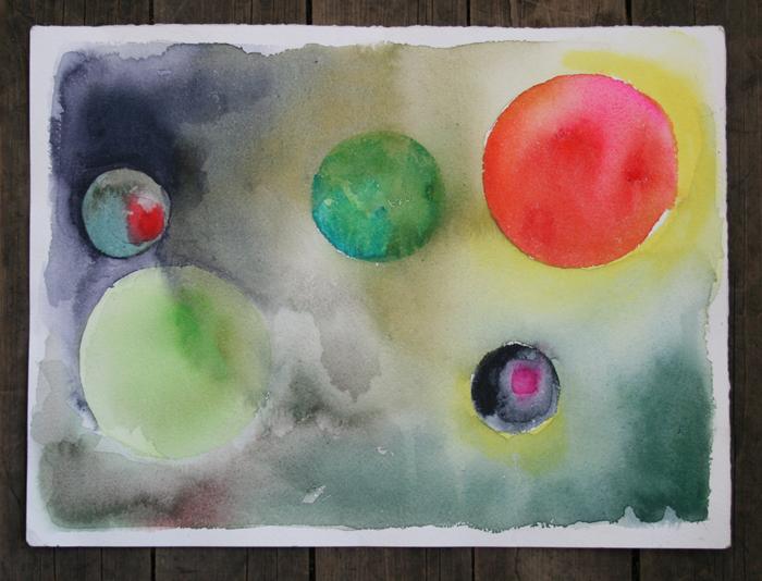 Colour Galaxies