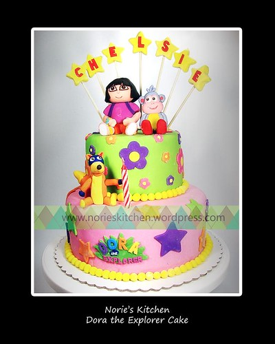 Norie's Kitchen - Dora the Explorer Cake