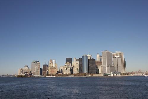 Staten Island Ferry / Manhattan skyline