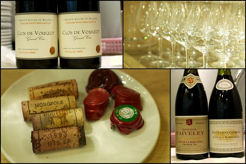 Vertical of Clos Vougeot and Nuits St. George
