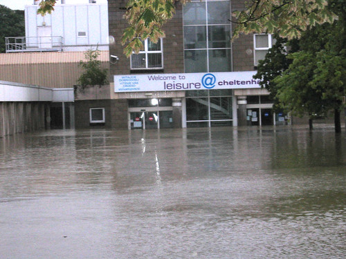 leisure@cheltenham our flooded leisure facilities in Cheltenham
