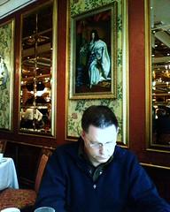 Andy in Versailles Room