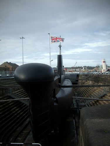 Submarine in Dry Dock