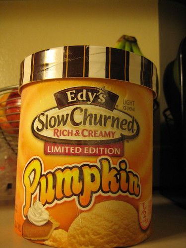 Edy's Pumpkin Ice Cream