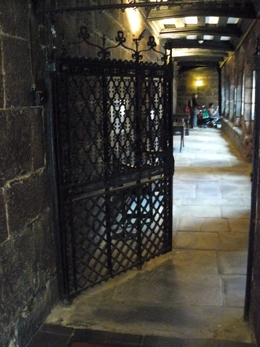 Chetham's Library gate