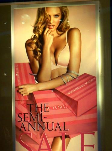 new hot bikini victoria s secret store poster