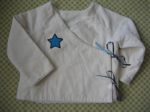 star kimono shirt