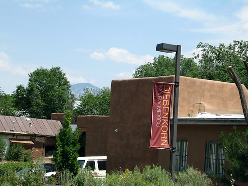 Diebenkorn Leaves Taos, Taos, New Mexico, July 2007, photo © 2007 by QuoinMonkey. All rights reserved.