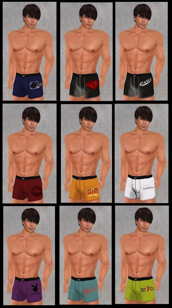 Lash-Ware Boxers ($10L)