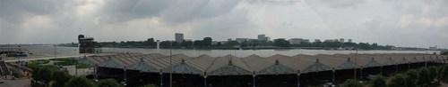 Panorama Schelde vanaf de kaaien