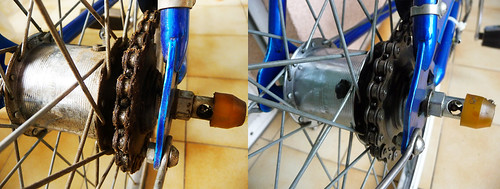 Drivetrain Before and After