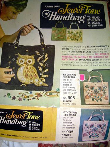 Fabulous Jewel Tone Handbag