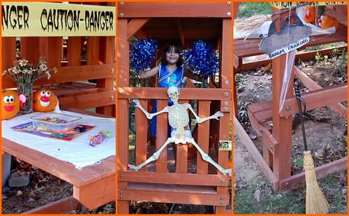 Haunted playhouse!