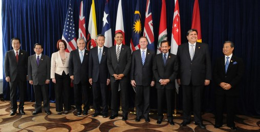 Leaders of TPP member states and prospective member states.