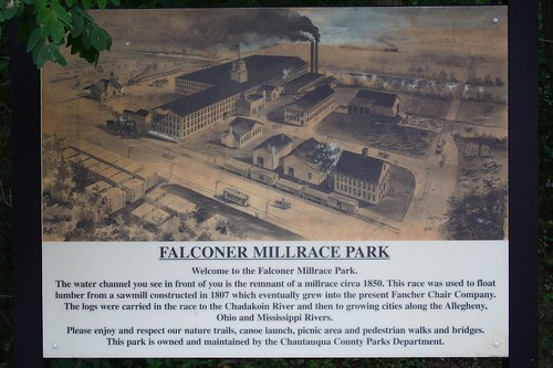 Millrace Sign