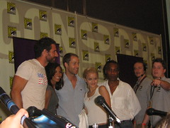 Eureka Cast at Comic Con