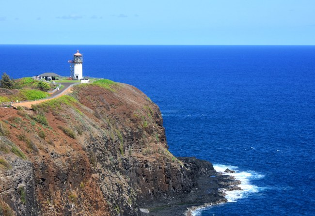 The Lighthouse (Yes, The Ocean Is Really That Blue)