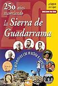 Portada del libro 250 años recorriendo la Sierra de Guadarrana, en la que aparece ilustrado el autor y fotos de antepasados