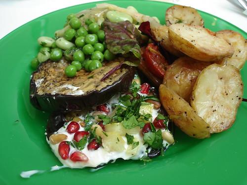 Three Salad Plate