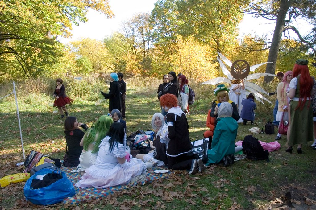 cosplay picnic high park 51