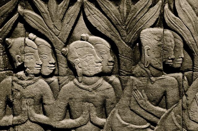 Cambodge, province de Siem Reap, site d'Angkor classé Patrimoine Mondial de l'UNESCO,