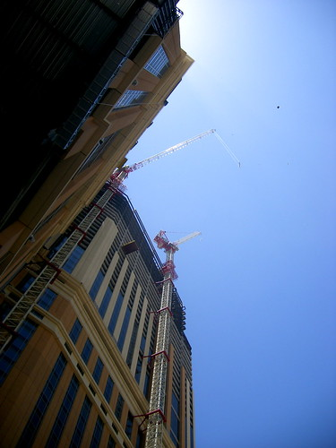 The Palazzo, at the Topping Off party