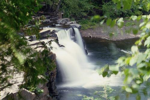 Manabezho Falls, long exposure