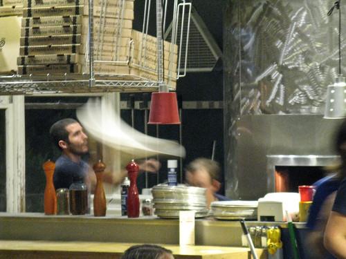 dough spinning