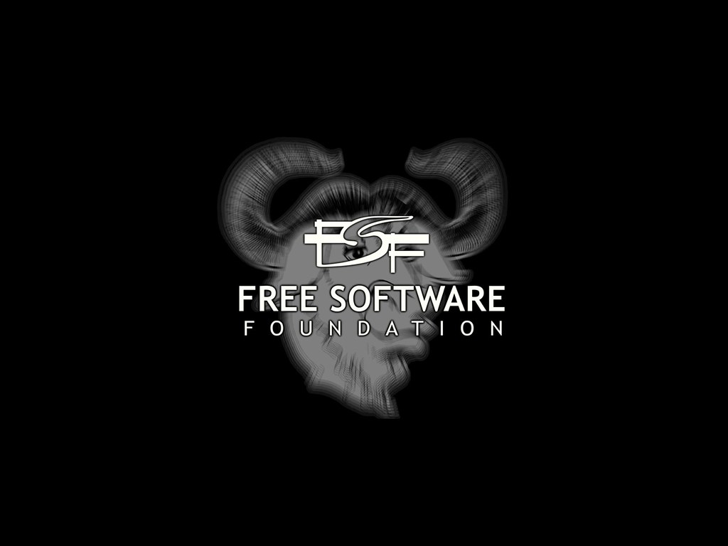 FSF Wallpaper (negro)