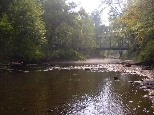 Gunpowder River, Falls Rd access at 24 Cfs