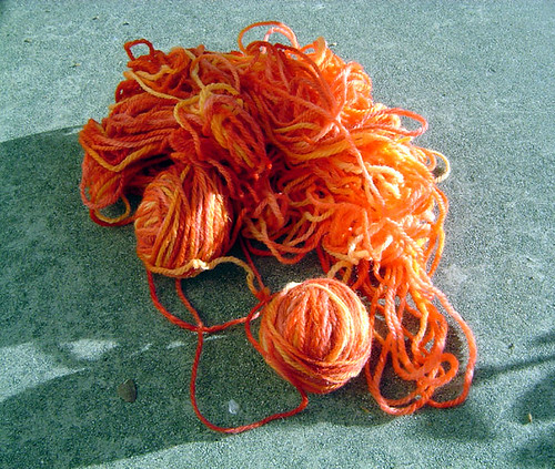 Finished Handdyed yarn