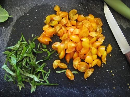 fresh tomatoes & pasta, pt.2