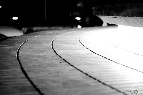 Black Curvy Lines.