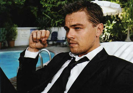 Oscar nominated Leonardo DiCaprio in Inception