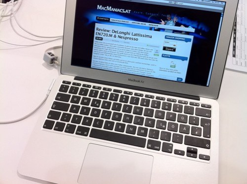 "MacBook Air 11,6"" @ McShark Mariahilferstraße"