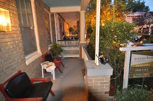 Pre-closing: front porch north