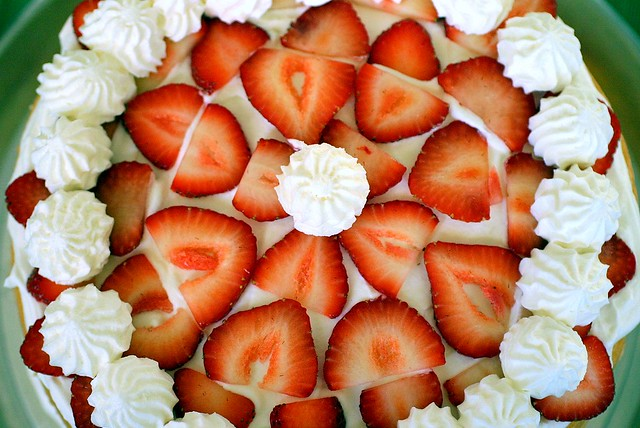 strawberry chiffon shortcake
