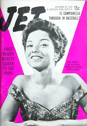 First Negro Beauty Queen to See Paris - Jet Magazine Oct 28, 1954 by vieilles_annonces.