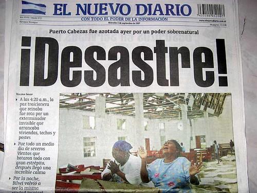 El Nuevo Diario 5 de Septiembre 2007