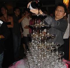Champagne Fountain
