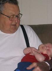 Great Grandpa and Calder